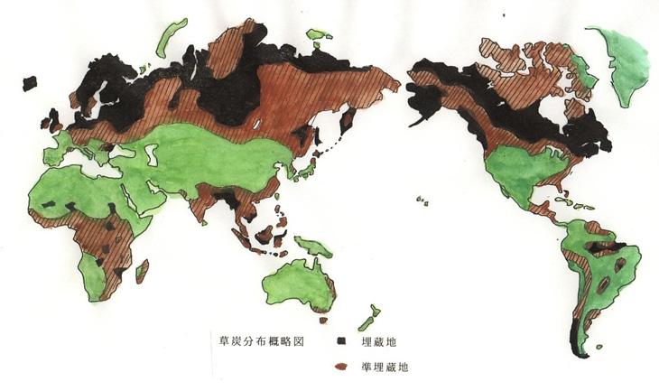 世界の草炭地