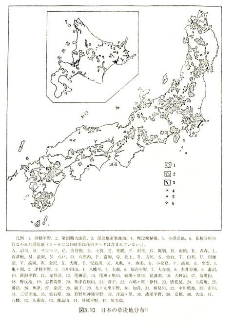 日本の草炭地